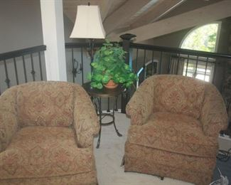 Plunkett Furniture ~ Pair of side chairs