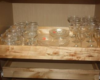 SERVING GLASSES