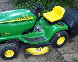 "John Deere LTR180 Lawn Tractor With 42"" Deck, 17 HP V-Twin Motor"