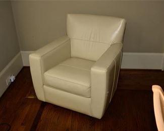 7. Upholstered Swivel Chair