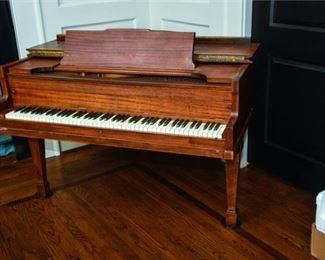 11. Brambach Baby Grand Piano