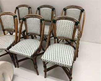 Set of French bistro chairs straight from New Orleans !! The real deal. $600 set !