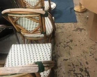 Authentic Bistro chairs, set of 6, $600
