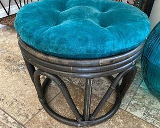 Bamboo type footstool