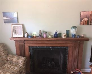NICE COLLECTION(S) SIGNED POTTERY PEWABIC, ANN ARBOR FAIR & GROSSE POINTE WAR MEMORIAL