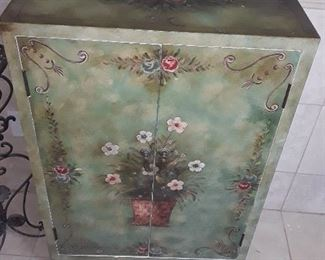 Nice Hand Painted Cabinet