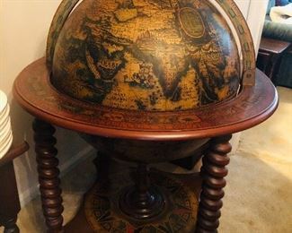 Large floor model globe Sold