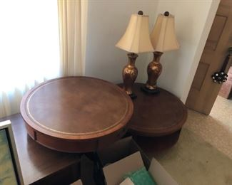 Great vintage furniture and lamps