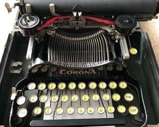 Corona Flip Typewriter