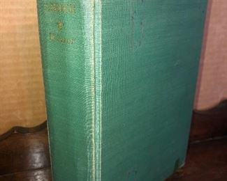 Lot #20B, Forever Amber in well read condition, $6
