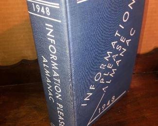 Lot 24B, Information Please Almanac 1943, $8