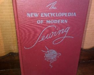 Lot 35B, The New Encyclopedia of Modern Sewing, crisp like new,  $8