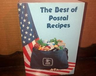 Lot 37B, The Best of Postal Recipes, $24