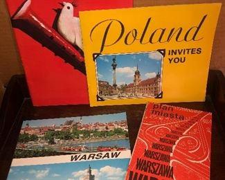 Lot 46B, Collection of 4 Polish pieces of ephemera, $14