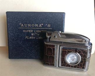 Lot 68B, Aurora flashlight lighter, $14