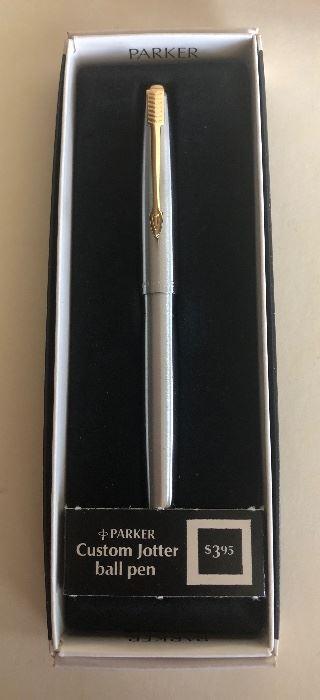 Lot 69B, Parker Custom Jotter pen in box, $16