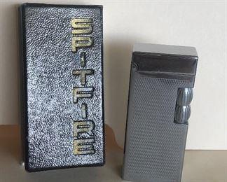 Lot 81B, Vintage New in Box Spitfire lighter, $60