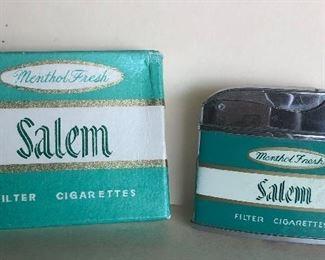 Lot 82B, Salem lighter new in box, $14
