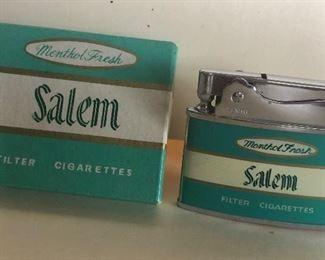 Lot 90B, Salem lighter, Zenith brand, new in box, $14