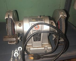 Lot 100B, Black & Decker grinder, $18