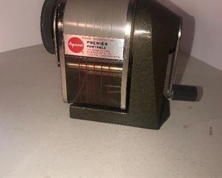 Lot 108B, Apsco pencil sharpener, $10