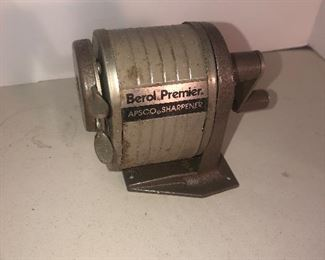 Lot 110B, Berol-Premier pencil sharpener, $8