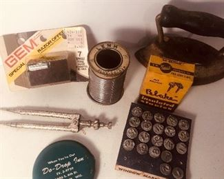Lot 120B, Collection of interesting items, $16/all
