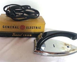 Lot 151B, General Electric travel iron, $12