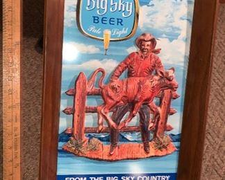Big Sky Beer Sign $45.00