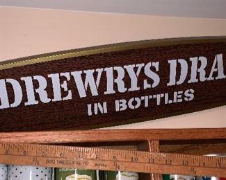Drewrys Draft in Bottles sign $38.00