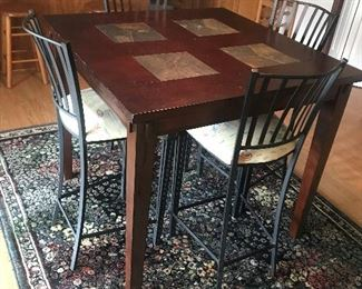 Pub Table / 4  Chairs $ 146.00