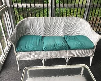 Wicker Sofa $ 90.00