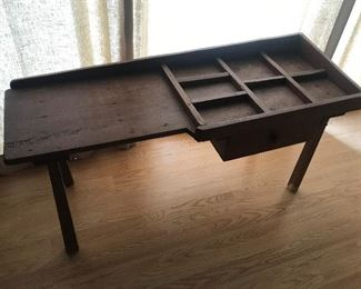 Antique Cobbler's Bench $ 78.00