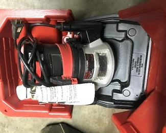 Craftsman 1.5 hp Router $ 74.00