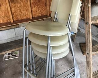 Set of 4 (plastic) Chairs $ 48.00