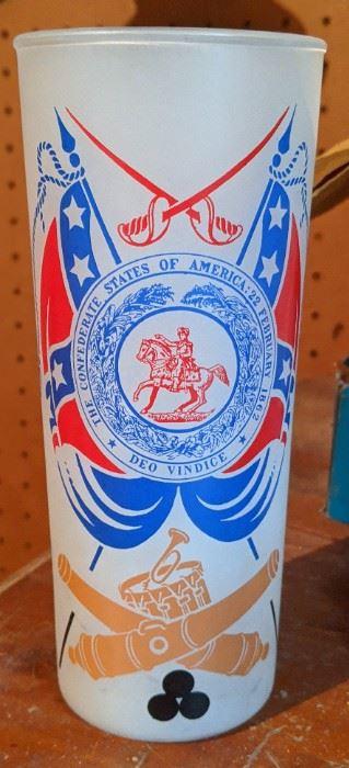 Civil War Centennial Glass