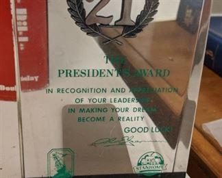 Stanhome Award