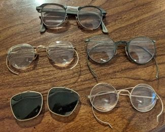 Old Spectacles and Eye Glasses