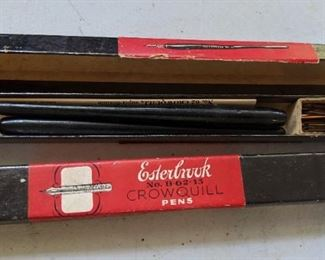 Esterbrook Crowquill Pens