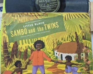 Sambo and the Twins 78 Record with Sleeve