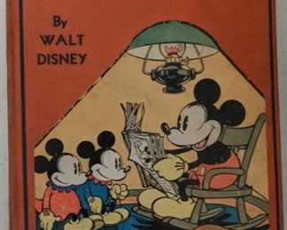 1933 Walt Disney Mickey Mouse Story Book