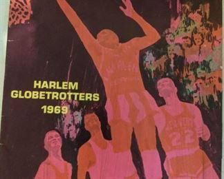 1969 Harlem Globetrotters Program