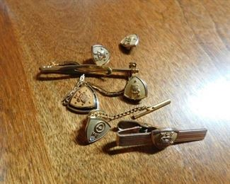 10K Gold Western Electric Service Pins
