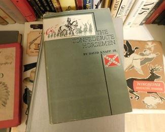 Numerous Confederate/Civil War Books