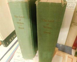 """The Land of Wilkes"" North Carolina Historical Books"
