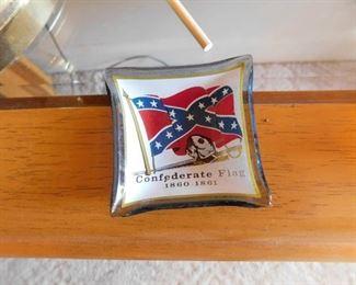 Small Confederate Ashtray