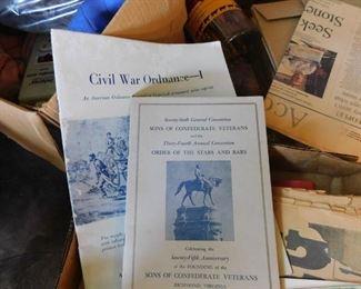 Civil War Paper Ephemera