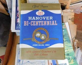 1963 Hanover, N.C. Bicentennial Program