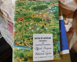 Battle of Antietam Centennial Program