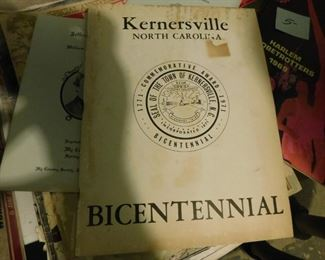 Kernersville, N.C. Bicentennial Program